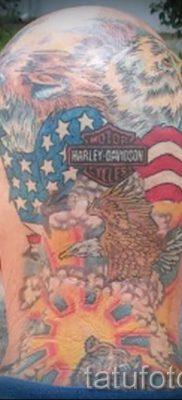 Фото пример татуировки байкеров для статьи про значение – tatufoto.ru – 88