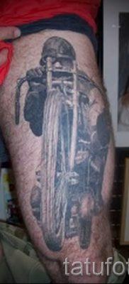 Фото пример татуировки байкеров для статьи про значение – tatufoto.ru – 90