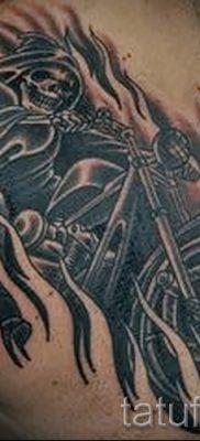 Фото пример татуировки байкеров для статьи про значение – tatufoto.ru – 93