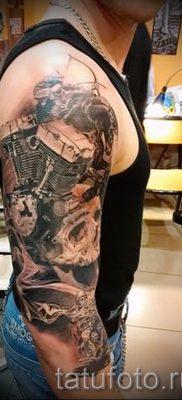 Фото пример татуировки байкеров для статьи про значение – tatufoto.ru – 94