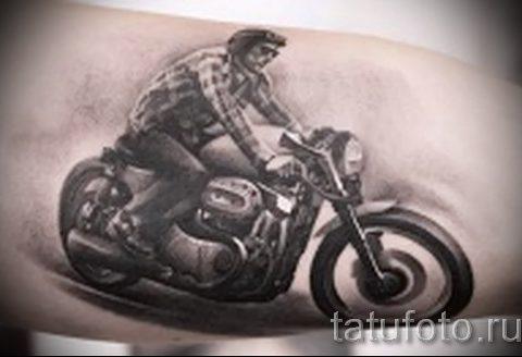 Фото пример татуировки байкеров для статьи про значение - tatufoto.ru - 98