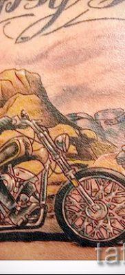 Фото пример татуировки байкеров для статьи про значение – tatufoto.ru – 104