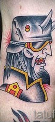 Фото пример татуировки байкеров для статьи про значение – tatufoto.ru – 105
