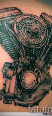 Фото пример татуировки байкеров для статьи про значение – tatufoto.ru – 106