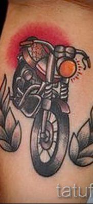 Фото пример татуировки байкеров для статьи про значение – tatufoto.ru – 107