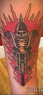 Фото пример татуировки байкеров для статьи про значение – tatufoto.ru – 108