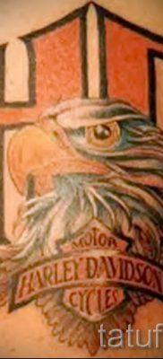Фото пример татуировки байкеров для статьи про значение – tatufoto.ru – 114