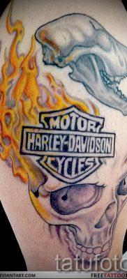 Фото пример татуировки байкеров для статьи про значение – tatufoto.ru – 118