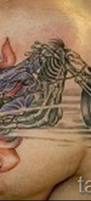 Фото пример татуировки байкеров для статьи про значение – tatufoto.ru – 121