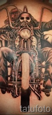 Фото пример татуировки байкеров для статьи про значение – tatufoto.ru – 124