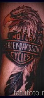 Фото пример татуировки байкеров для статьи про значение – tatufoto.ru – 140