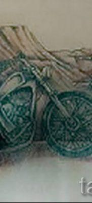 Фото пример татуировки байкеров для статьи про значение – tatufoto.ru – 145