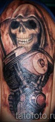 Фото пример татуировки байкеров для статьи про значение – tatufoto.ru – 146