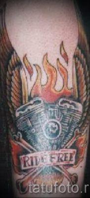 Фото пример татуировки байкеров для статьи про значение – tatufoto.ru – 152