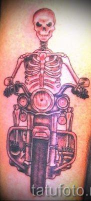 Фото пример татуировки байкеров для статьи про значение – tatufoto.ru – 155