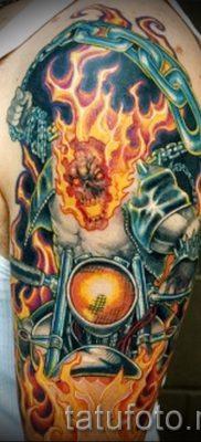 Фото пример татуировки байкеров для статьи про значение – tatufoto.ru – 157