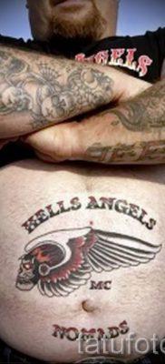 Фото пример татуировки байкеров для статьи про значение – tatufoto.ru – 159