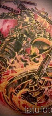 Фото пример татуировки байкеров для статьи про значение – tatufoto.ru – 160