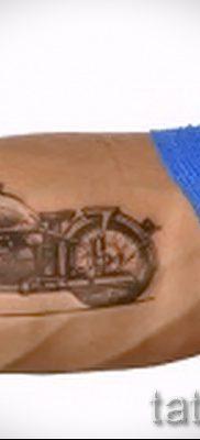 Фото пример татуировки байкеров для статьи про значение – tatufoto.ru – 161