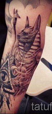 Достойный вариант татуировки сфинкс – можно использовать для кот сфинкс тату