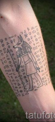 Классный вариант тату сфинкс – можно использовать для тату сфинкса на ноге