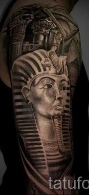 Прикольный вариант татуировки сфинкс – можно использовать для тату египетский сфинкс