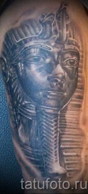 Оригинальный вариант татуировки сфинкс – можно использовать для кот сфинкс тату