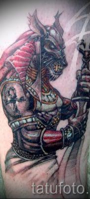 Уникальный вариант татуировки сфинкс – можно использовать для тату египетский сфинкс