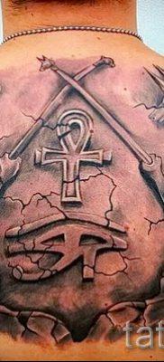 Оригинальный вариант татуировки сфинкс – можно использовать для тату сфинкс кошка