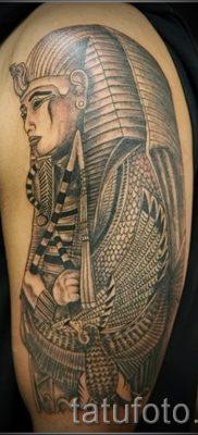 Прикольный вариант тату сфинкс – можно использовать для тату сфинкс значение для девушек