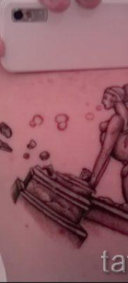 Интересный вариант тату сфинкс – можно использовать для кот сфинкс тату