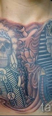 Оригинальный вариант тату сфинкс – можно использовать для тату сфинкс на руке