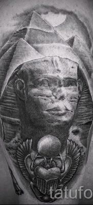 Достойный вариант татуировки сфинкс – можно использовать для тату египетский сфинкс