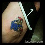 Крутой вариант готовой татуировки ежик – рисунок подойдет для тату ежик с одуванчиком