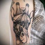 Уникальный вариант готовой тату жираф – рисунок подойдет для тату жираф акварель
