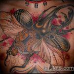Зачетный вариант существующей наколки жук – рисунок подойдет для татуировка жук на руке