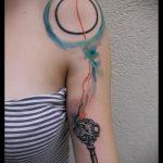Уникальный вариант готовой татуировки круг – рисунок подойдет для тату узоры круг
