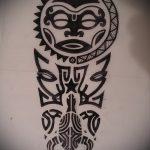 Оригинальный пример выполненной тату круг – рисунок подойдет для тату спине круг