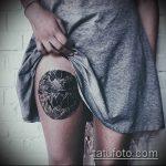 Оригинальный вариант готовой тату круг – рисунок подойдет для тату надпись кругу