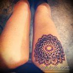 Прикольный вариант существующей тату круг – рисунок подойдет для тату круг на запястье
