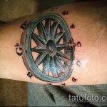 Уникальный вариант существующей татуировки круг – рисунок подойдет для тату дерево в круге