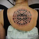 Уникальный пример готовой наколки круг – рисунок подойдет для тату кельтский круг