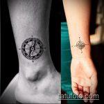 Зачетный пример существующей наколки круг – рисунок подойдет для тату надпись кругу
