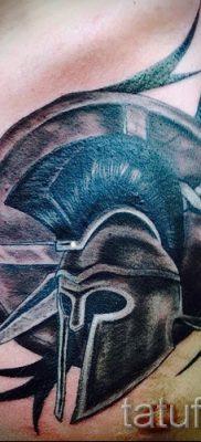 Рисунок крутой тату щит и меч для заметки про историю тату щит с мечем