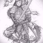 Прикольный пример эскиза тату армейская – рисунок подойдет для армейские татуировки вв