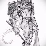 Зачетный вариант эскиза наколки армейская – рисунок подойдет для армейские татуировки ввс