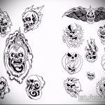Уникальный вариант эскиза татуировки армейская – рисунок подойдет для армейские татуировки пво
