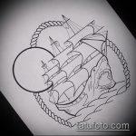 Интересный вариант эскиза наколки АКУЛА – рисунок подойдет для пасть акулы тату