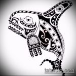 Крутой пример эскиза тату АКУЛА – рисунок подойдет для тату акула спине