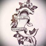 Оригинальный пример эскиза тату АКУЛА – рисунок подойдет для тату акула якоремтату акулы груди